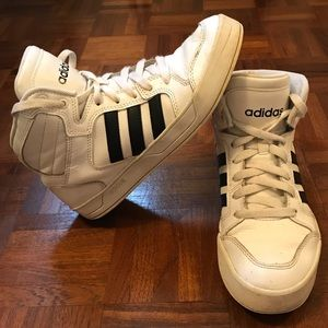 Adidas Vintage High Top Sneakers